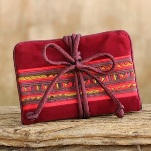 Reviews Tribal Jewelry Pouch By Novica