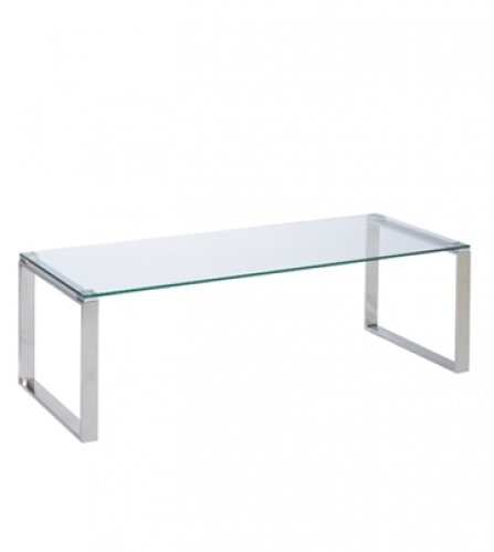 Orren Ellis Irina Glass Narrow Coffee Table Reviews Wayfair