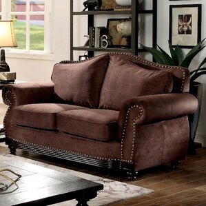 Barron Transitional Loveseat by Fleur De Lis Living