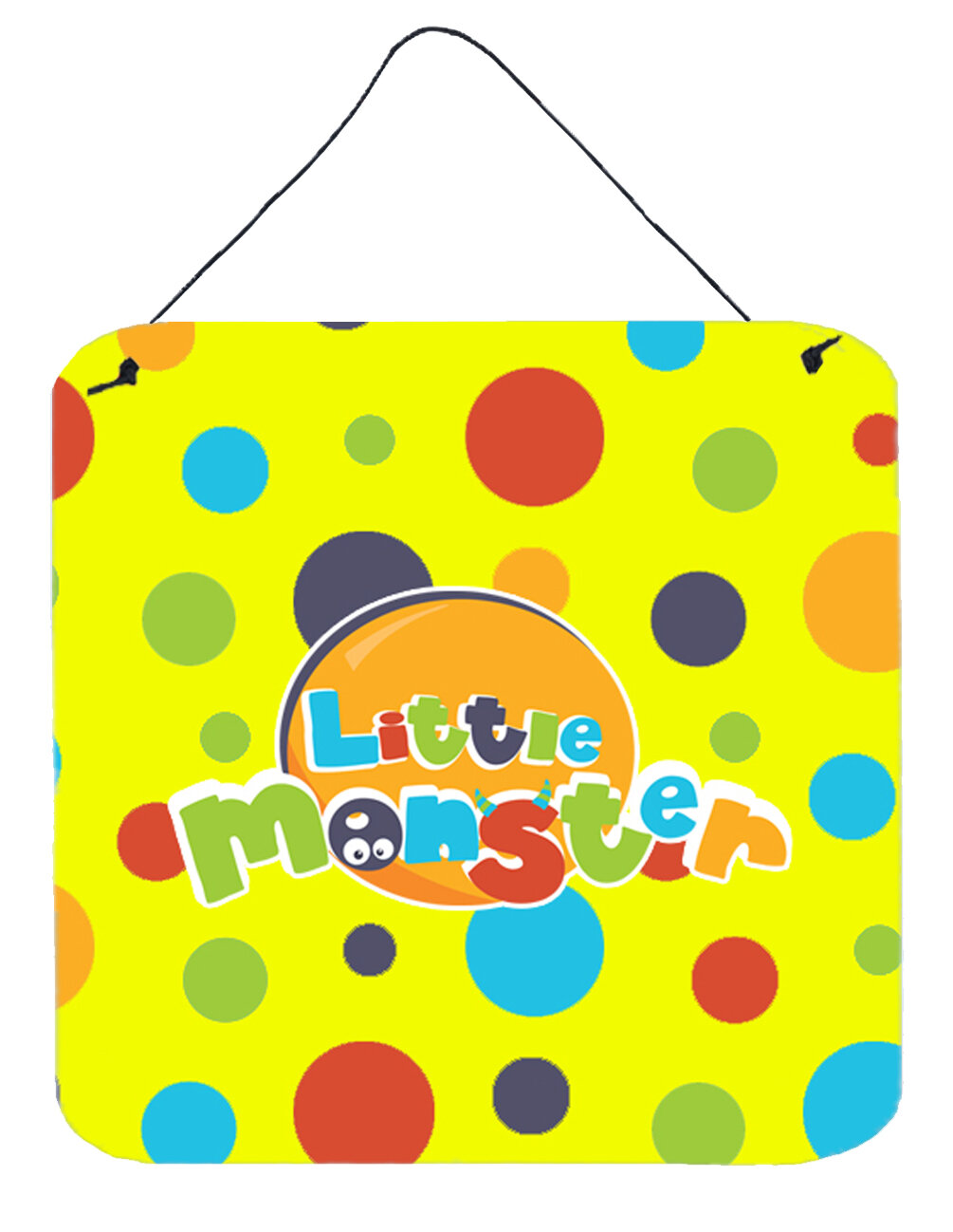 Zoomie Kids Little Monster Aluminum Wall Décor | Wayfair