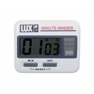 Mute Minder Electronic Kitchen Timer