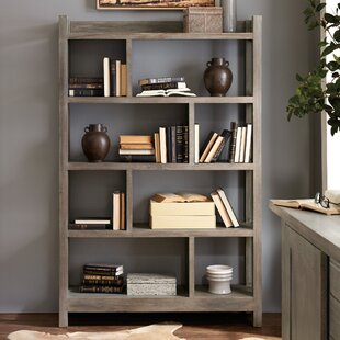 Urban Farmhouse Bunching Etagere Bookcase