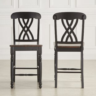 Heidi 43 Bar Stool (Set of 2) Alcott Hill