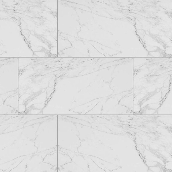 Msi Carrara 12 X 24 Porcelain Field Tile In White Reviews Wayfair