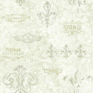 Kitchen Wallpaper Texture french country wallpaper you'll love | wayfair