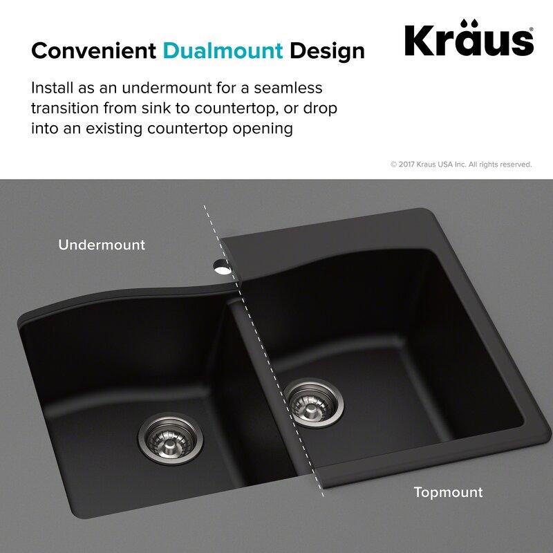 Forteza 33 X 22 Double Basin Drop In Kitchen Sink