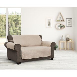 Belmont Leaf Secure Fit Loveseat Furniture Slipcover