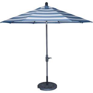 Wiebe Auto Tilt 9' Market Sunbrella Umbrella