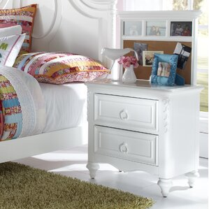 Jamari  2 Drawer Nightstand by Viv + Rae