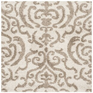 Hall Brown/Beige Area Rug by Charlton Home