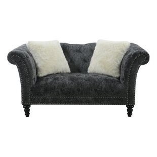 Hendrix Chesterfield Loveseat by Willa Arlo Interiors