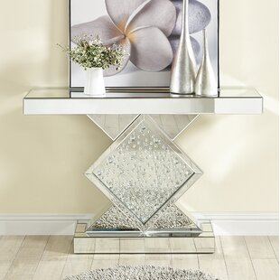 Order Larock Crystal Console Table By Rosdorf Park
