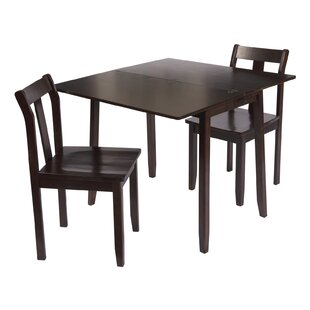 The Bay Shore 3 Piece Dining Set Wildon Home®