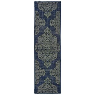Maria Casual Navy Indoor/Outdoor Area Rug