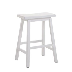 Reviews Hippocrates 24 Bar Stool (Set of 2) By Red Barrel Studio