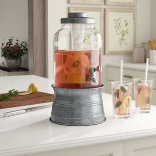 Hoyleton Beverage Dispenser by Laurel Foundry Modern Farmhouse