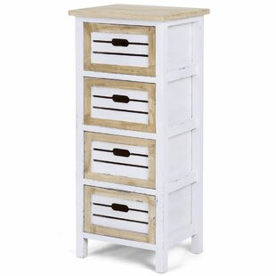 Aria Costway 4 Drawer Nightstand by Rosalind Wheeler Looking for