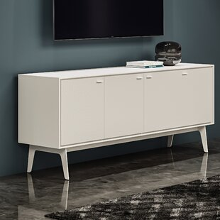 Flo - Quad Cabinet - Smooth Satin White Finish by BDI Herry Up