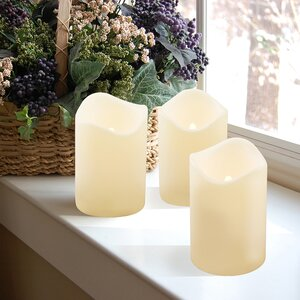 Miami Shores Flameless Candle (Set of 3)