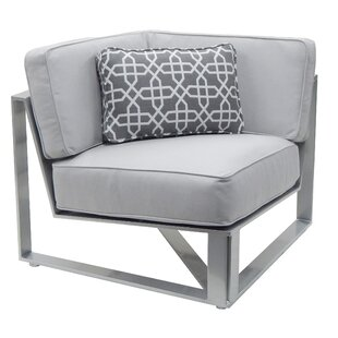 Horizons Corner Patio Chair with Cushion