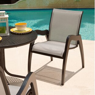 Dune Stacking Patio Dining Chair (Set of 2)