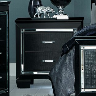 Sharla 2 Drawer Nightstand by House of Hampton
