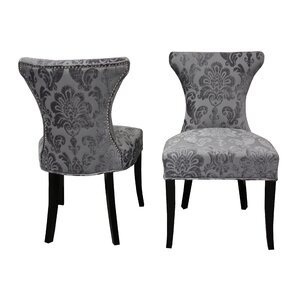 Careen Parsons Chair (Set of 2) by Rosdorf Park