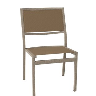 Cabana Club Stacking Patio Dining Chair by Tropitone Discount