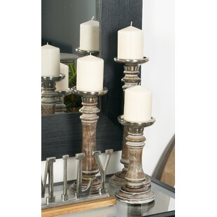 Rustic Candle Holders You Ll Love Wayfair