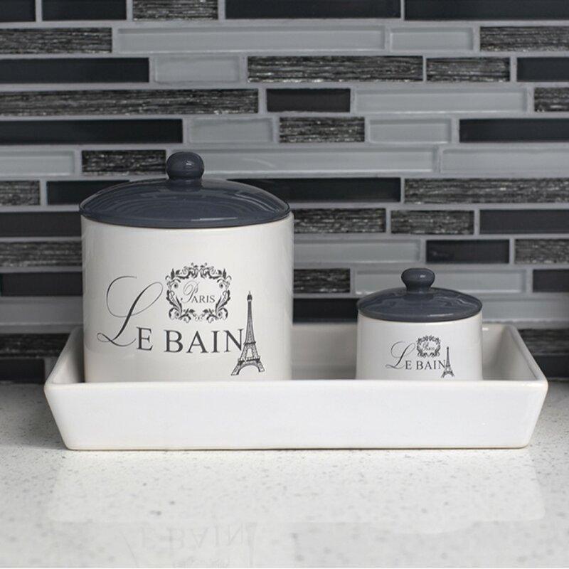 Ophelia & Co. Le Bain Paris Ceramic 3 Piece Bathroom ...