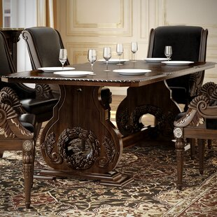 Chirk Trestle Extendable Dining Table by Astoria Grand Herry Up