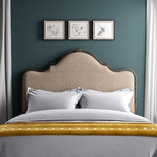 Saltville Upholstered Panel Headboard by Greyleigh