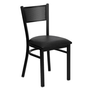 Chafin Grid Back Side Chair by Winston Porter Bargain