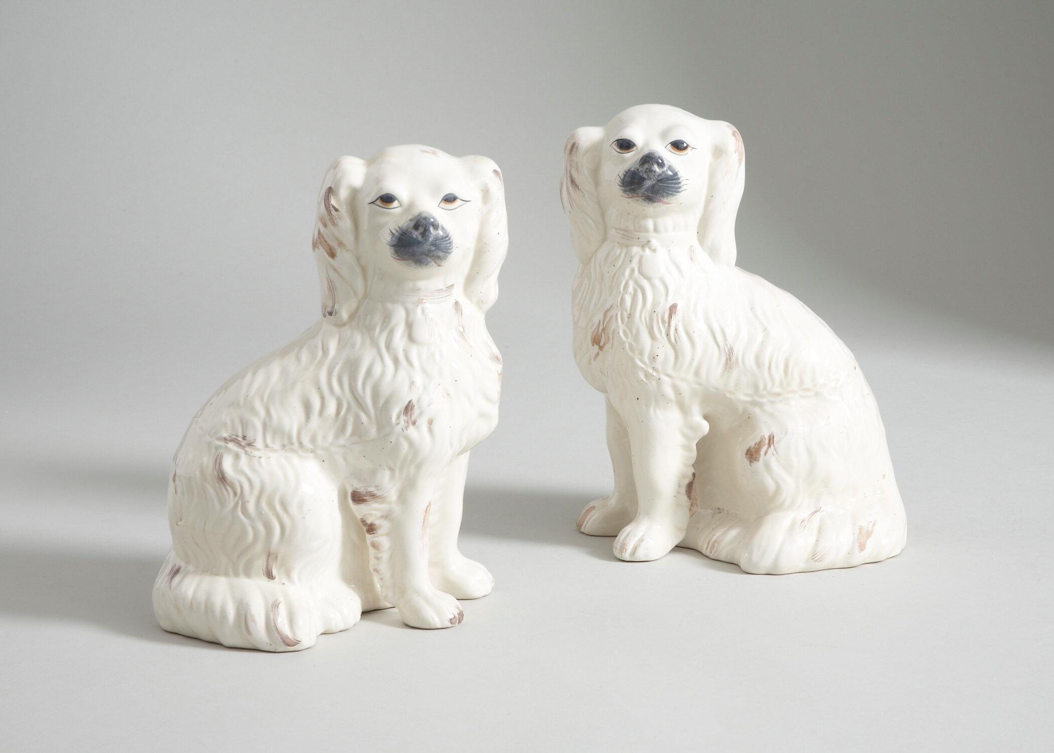 Chelsea House 2 Piece Comfort Dog Figurine Set Perigold