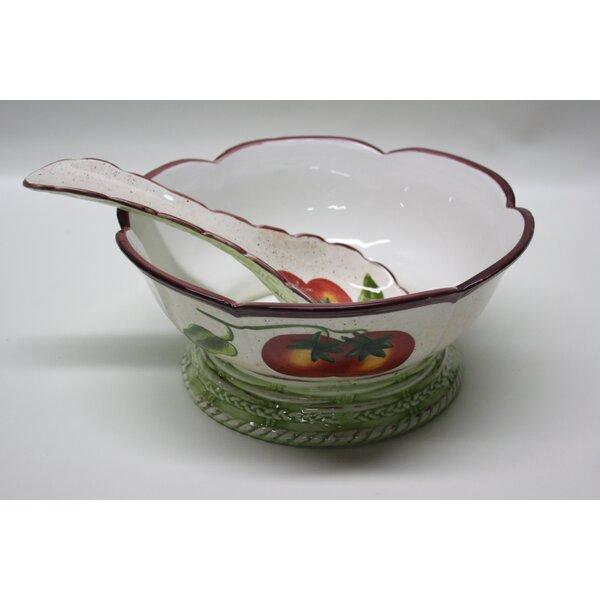 Destidesign Ceramic Salad Bowl Wayfair