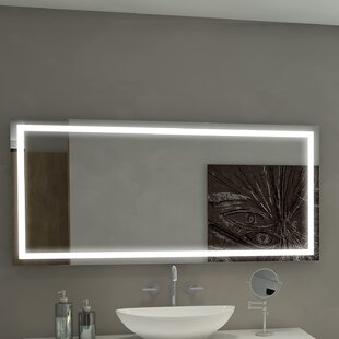 Best Reviews Harmony Illuminated Bathroom / Vanity Wall Mirror By Paris Mirror