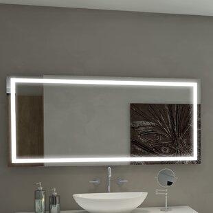 Look for Harmony Illuminated Bathroom/Vanity Wall Mirror ByParis Mirror