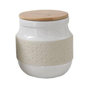 Stoneware 2 qt. Kitchen Canister