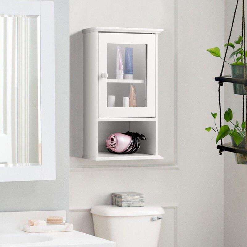 Red Barrel Studio Amyrah 14 W X 20 H X 7 D Wall Mounted Bathroom Cabinet Wayfair