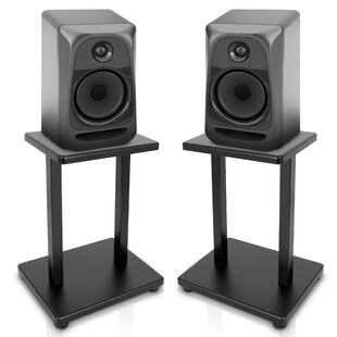 HeavyDuty Steel Quad Support 13 Center Channel Speaker Stand