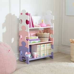 Affordable Puzzle 38.25 Bookcase by KidKraft Reviews (2019) & Buyer's Guide