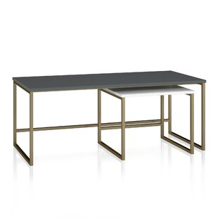 Scarlett 2 Piece Coffee Table Set CosmoLiving by Cosmopolitan