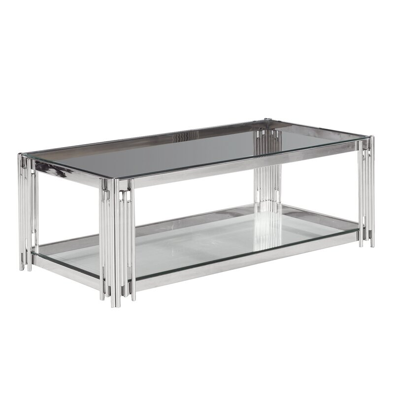 Clarkson Gl Top Coffee Table