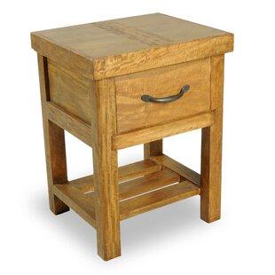 Soho 1 Drawer Bedside Table