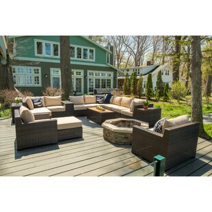 Darden 16 Piece Sectional Seating Group with Cushions