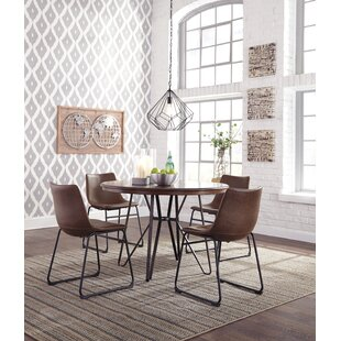 Lanford 5 Piece Dining Set by Williston Forge Fresht