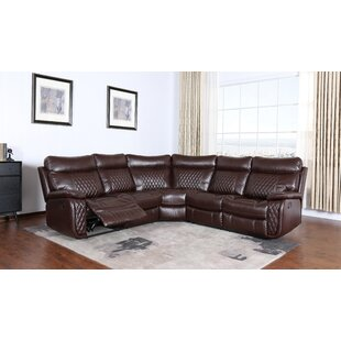 Shop Moorman Reclining Sectional by Red Barrel Studio