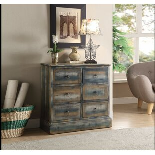 Catt Spacious 6 Drawer Accent Chest