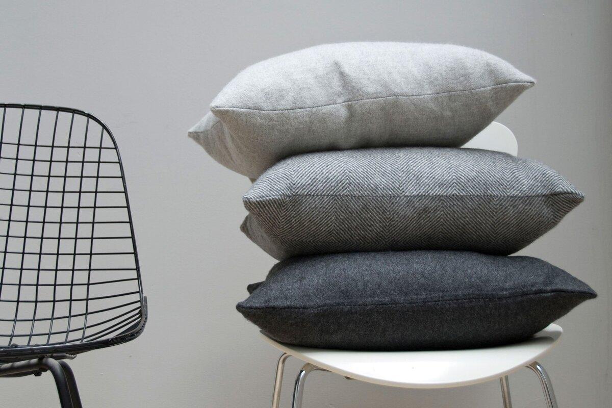 chair throw lumbar pillows black decorative pillow modern for
