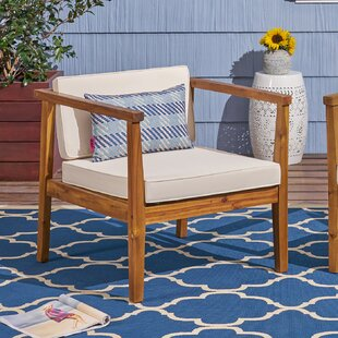 Wrens Teak Patio Chair (Set of 2)